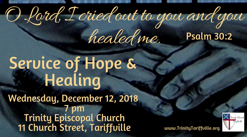 12/12 Service of Hope and Healing - Trinity Church Tariffville